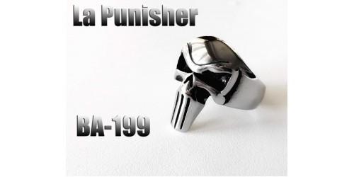 Ba-199, Bague La Punisher acier inoxidable