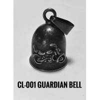 CL-001 cloche protectrice (Guardian Bell) Moto,acier inoxidable (Stainless Steel)