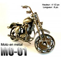 Mo-001, Mini Moto Métal (to be translated)