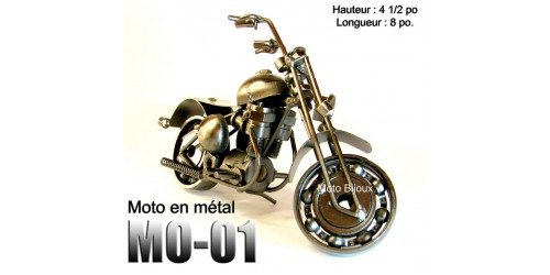 Mo-001, Mini Moto Métal