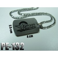 Pe-132, Vulcan Rider , Acier inoxidable ( Stainless Steel )