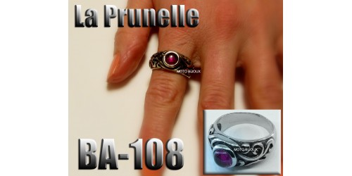 Ba-108, Bague La Prunelle inoxidable