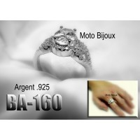 Ba-149 , Bague argent .925 (to be translated)