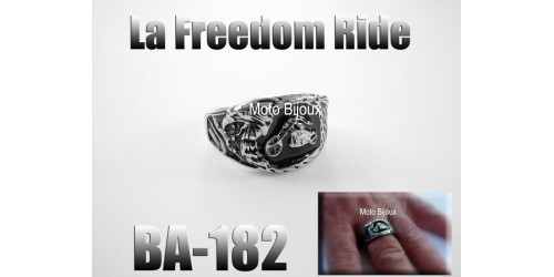 Ba-182, la Freedom Ride, en acier inoxidable
