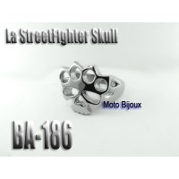 Ba-186, La streetfighter Skull, acier inoxidable