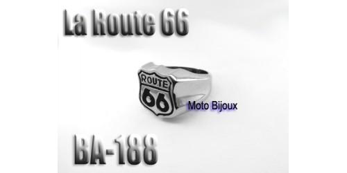 Ba-188 La Route 66 en acier inoxidable
