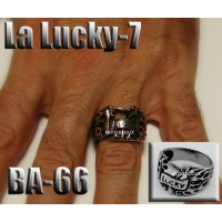Ba-066, Bague La Lucky-7 inoxidable