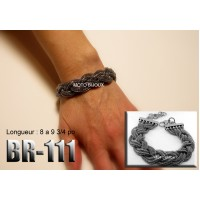 Br-111, Bracelet  acier inoxidable « stainless steel »