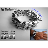 Br-50, Bracelet chaîne biker acier inoxidable « stainless steel »  (to be translated)