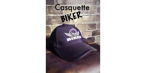 Casquette BIKER