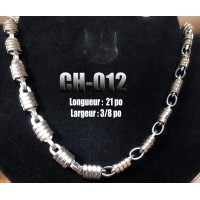 Ch-12, quadruple mailles, acier inoxidable ( Stainless Steel )