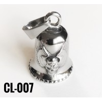 CL-001 cloche protectrice (Guardian Bell), acier inoxidable (Stainless Steel)