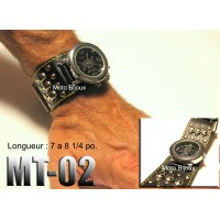 Mt-01, Montre bracelet Cuir (to be translated)